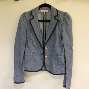 Navy Pinstripe Blazer Juicy Couture